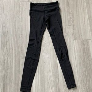 Black lululemon full length legging
